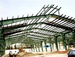 سازه صنعتی فولادی