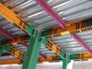 سوله های صنعتی , سازه های صنعتیسازه فلزی پیچ و مهرهای