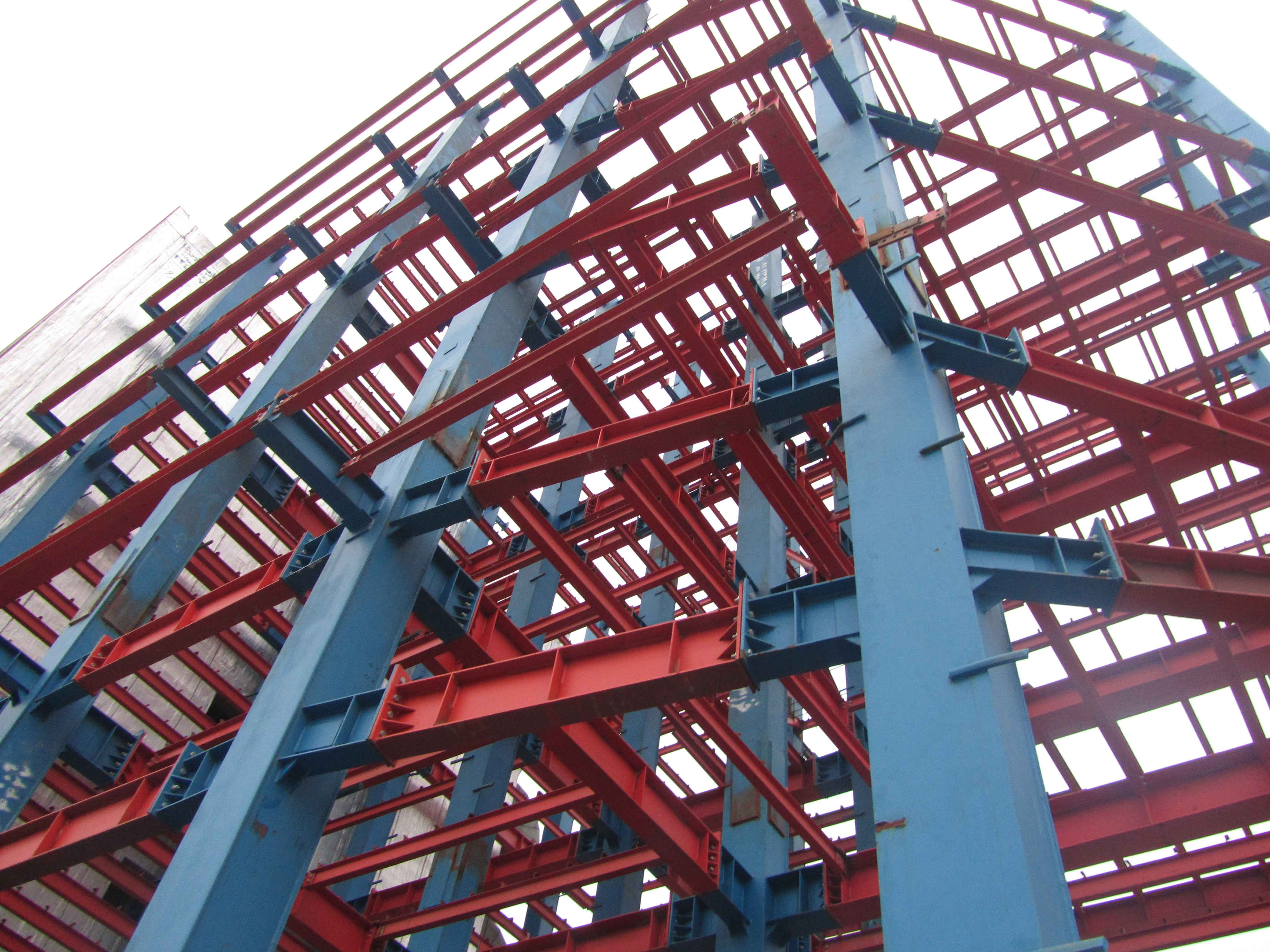 Image result for اجرای صنعتی ساختمان های فولادی