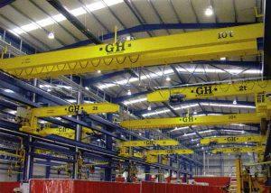 اسکلت فلزی کارخانجات