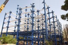 سوله های صنعتی , سازه های صنعتیساخت و اجرای اسکلت فلزی